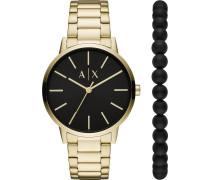 -Uhren Analog Quarz One Size Edelstahl 87972992