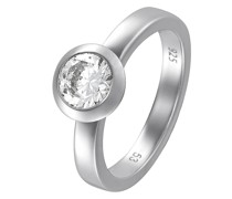 Silver-Damenring 925er Silber 1 Zirkon 51 32004875