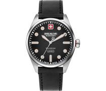 -Uhren Analog Quarz Braun/Silber 32015092