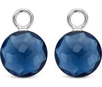 -Ohrringe 925er Silber Kristall One Size 88015495