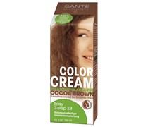 150 ml  Cocoa Brown Color Cream Pflanzenhaarfarbe
