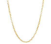 Halskette Rundanker Oval Basic 925 Silber