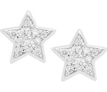 -Ohrstecker Silber Farbstein One Size 86357984