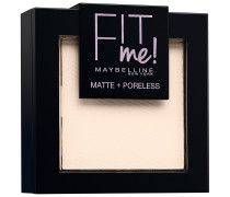 Nr. 100 - Warm Ivory Fit Me Matte + Poreless Powder Puder 9g