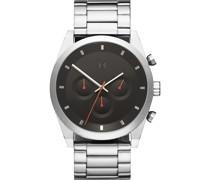 -Uhren Analog Quarz Silber 32014824