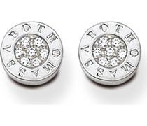 -Ohrstecker 925er Silber Zirkonia One Size 87171752