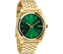 Uhren Analog Quarz Gold/Grün 32002473uhren