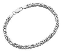 Armband Königskette, massiv, Silber 925