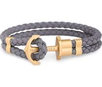 -Armband Leder/Edelstahl L 32004504