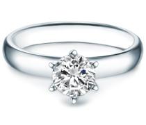 Ring Sterling Silber verziert mit Kristallen von Swarovski® silber