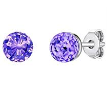Ohrstecker Sterling Silber verziert mit Kristallen von Swarovski®