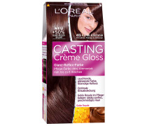 200 ml  Nr. 415 - Kühle Kastanie Crème Gloss Haarfarbe