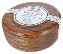 Arlington Shaving Soap in Mahogany Bowl
