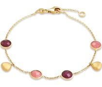 -Armband 375er Gelbgold 2 Rubin One Size 87774791