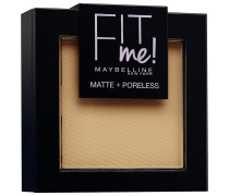 Nr. 250 - Sun Beige Fit Me Matte + Poreless Powder Puder 9g