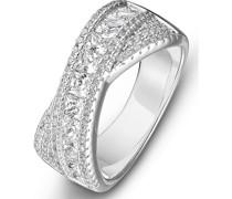 -Damenring Ring aus Sterling Silber 925er 93 Zirkonia 56 32012255