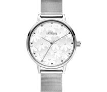 -Uhren Analog Quarz One Size Metall 87655024