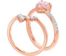 -Damenring Metall Kristalle 58 32004773