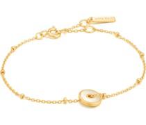-Armband 925er Silber Farbstein 32013496