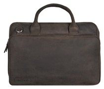 560er Serie Aktentasche 2 Fächer Leder 42 cm Laptopfach