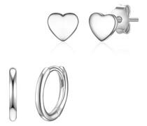-Ohrstecker 925er Silber One Size 88253345