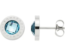 -Ohrstecker Edelstahl/Glas One Size 87564983