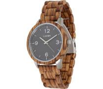 -Uhren Analog Quarz Apfelholz Holz 32015164