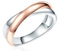 Ring Sterling Silber silber/roségold