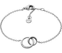-Armband Edelstahl Glasstein One Size 87364801