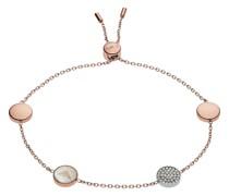 -Armband Edelstahl Rosé Glasstein One Size 32001167