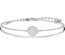 -Armreif Metall Kristalle One Size 87431258