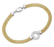 Armband elegant mit Zirkonia, Silber 925