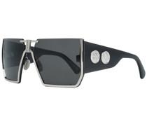 Ästhetische Sonnenbrille Schwarz