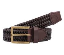 Braided Gürtel Leder