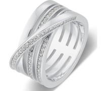 Silver-Damenring 925er Silber 67 Zirkonia 57 32003946