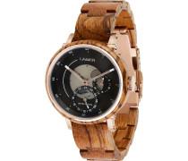 -Uhren Analog Quarz One Size Holz 88139569