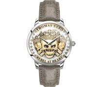 -Uhren Analog Quarz One Size Leder 87792757