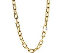 -Kette 925er Silber Zirkonia Gold 32014854