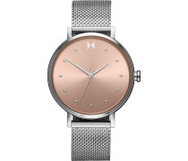-Uhren Analog Quarz Roségold 32014820