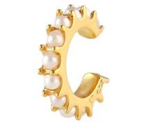 Ohrringe Earcuff Perlen 925 Silber