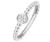 -Damenring 925er Silber Diamant 54 32000296