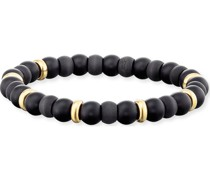 -Armband Armband Russel Edelstahl, Carbon One Size 88023811 Armbänder & Armreifen