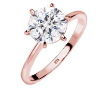 Ring Verlobungsring Swarovski® Kristalle 925 Silber
