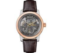-Uhren Analog Automatik Braun 32018100