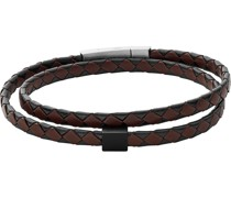 -Armband Leder, Edelstahl One Size 88237293