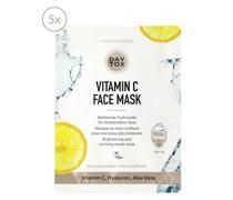 Vitamin C Face Mask 5er Set