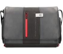 Urban Messenger Leder 36 cm Laptopfach