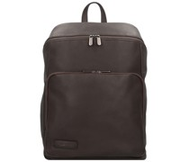 Techno Voltage Businessrucksack Leder 43 cm Laptopfach