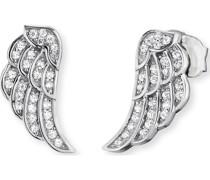 -Ohrstecker 925er Silber Zirkonia One Size 87031306