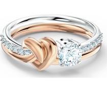 -Damenring LIFELONG RING Metall, Metall -Kristall 50 32012322